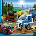 Lego City 2012 4441 Police Dog Van
