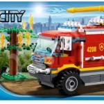 Lego City 2012 4x4 Fire Truck