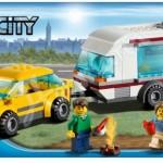 Lego City 2012 Car And Caravan