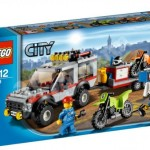 Lego City 2012 Dirt Bike Transporter