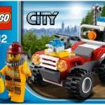 Lego City 2012 Fire ATV