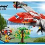 Lego City 2012 Fire Plane