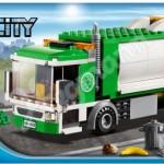 Lego City 2012 Garbage Truck