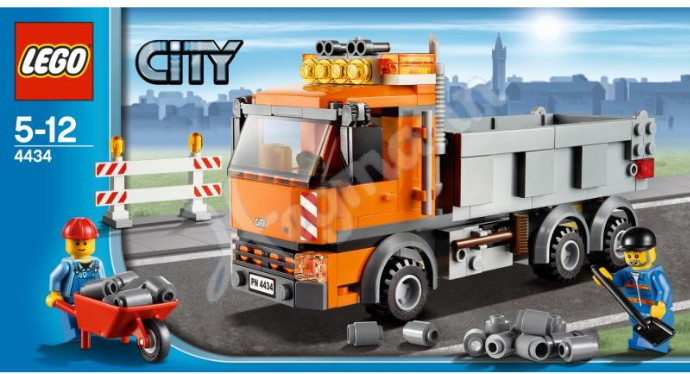 Lego city 2012 set images and details - Lego camion police ...