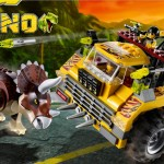 Lego Dino Triceratops Trapper 5885 Box